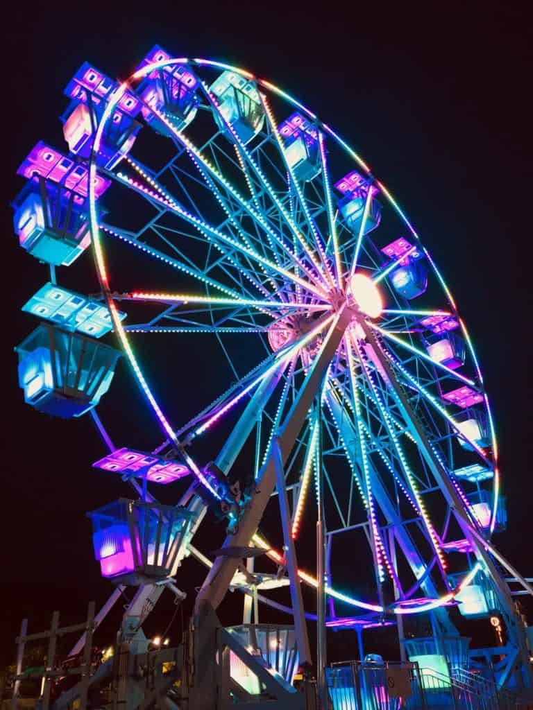 Ferris Wheel X on Atlanta And Surrounding Area Map