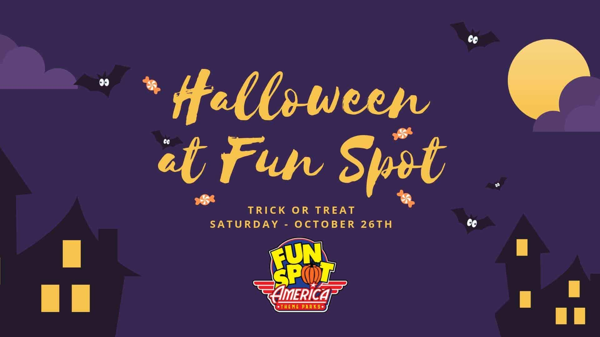 10/26-Halloween at Fun Spot America Atlanta