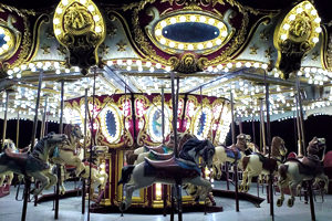 Carousel night shot