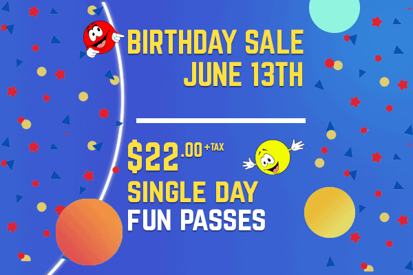 Birthday Sale June 13th